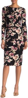 Rachel Roy Stella Floral Midi Dress