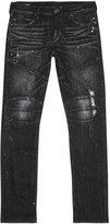 True Religion Rocco Black Slim-leg Jeans