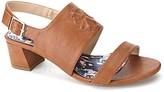 Christian Lacroix Rosalia Block Heel Sandal