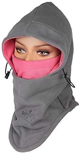 Home Crazy Shopping 6 In 1 Thermal Fleece Balaclava Hat Hood Police Swat Ski Bike Wind Stopper Face Mask New Caps Neck Warmer oran