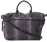 Expandable Weekender With Leather Trim