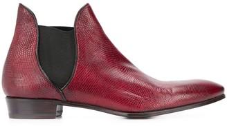 Lidfort textured Chelsea boots