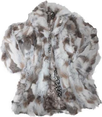 Italia Independent Beige Fur Coats