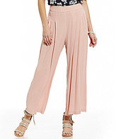 J.o.a. Pleated Wide Leg Soft Pant