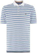 Howick Men's Hubbard Textured Stripe Polo