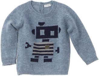 Il Gufo Robot Wool Sweater