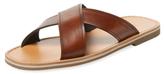 Prada Leather Criss-Cross Sandal