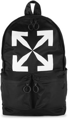 Off-White Arrow Black Nylon Backpack