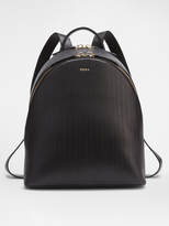 DKNY Pinstripe Backpack