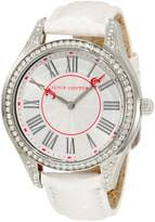 Juicy Couture Women's white dail stainless steel Watch