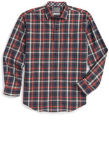 Thomas Dean Plaid Dress Shirt (Little Boys & Big Boys)