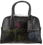 Marc Jacobs Tabboo! Flower Leather Bauletto Bag