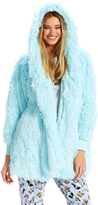 Peter Alexander peteralexander Fluffy Hooded Gown