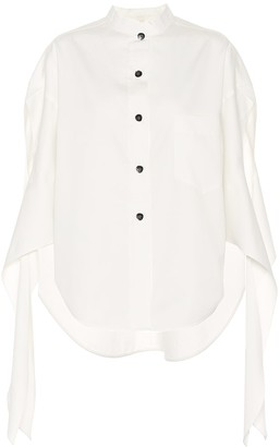 Petar Petrov Burr cotton and silk twill shirt