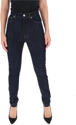 Dolce & Gabbana High-Waisted Skinny Denim Jeans