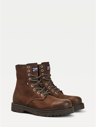 Tommy Hilfiger Suede Ankle Boot