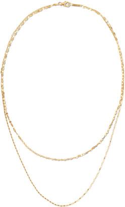 Lana 14k Tried 2-Strand Necklace