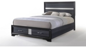 ACME Furniture Naima Eastern King Bed with Storage