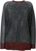 Zoe Karssen sheer shimmer sweater
