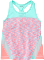 Gymboree Sunkist Coral Color Block Cationic Active Tank - Girls