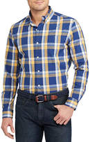 Chaps Plaid Stretch Cotton Poplin Shirt