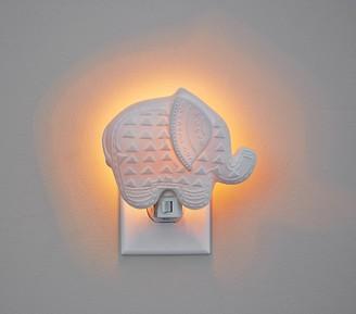 Pottery Barn Kids Ceramic Elephant Nightlight