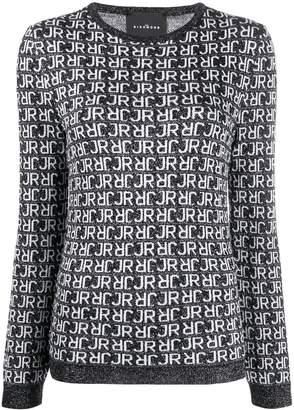 John Richmond knitted logo jumper