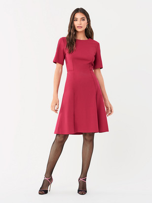 Diane von Furstenberg Alexandra Stretch Ponte Dress