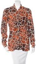 Missoni Giraffe Print Long Sleeve Top
