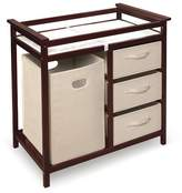 Badger Basket Modern Changing Table & Hamper