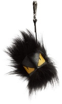 Fendi Monster Fur And Leather Bag Charm