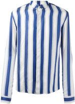 Haider Ackermann striped polo shirt - men - Silk - M