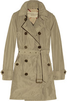 Burberry Hooded packaway trench coat