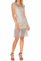 Saylor Silver Lace Dress