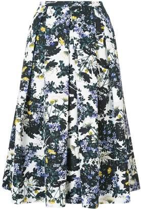 Erdem Ina floral skirt