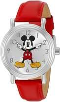 Disney Women's 'Mickey Mouse' Quartz Metal Automatic Watch, Color: (Model: W002758)