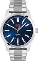 Hugo Boss Hugo Boss Orange Dublin Black Dial stainless steel bracelet Mens Watch