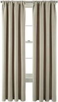 Martha Stewart MarthaWindowTM Hampton Basketweave Rod-Pocket/Back-Tab Curtain Panel