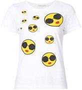 Alice + Olivia Alice+Olivia - sunnies face T-shirt - women - Cotton - XS