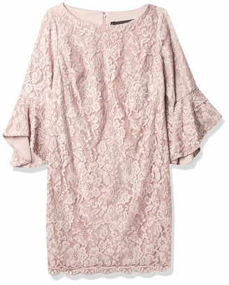 Chetta B Women's Lace Bell Sleeve Dress
