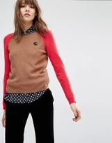 Paul Smith Contrast Sleeve Sweater