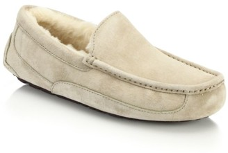 UGG Men's Ascot UGGpure-Lined Suede Slippers