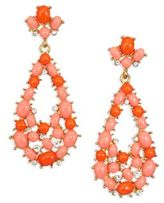 Kenneth Jay Lane Coral Drop Earrings