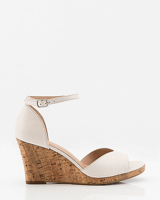 Le Château Leather Wedge Sandal