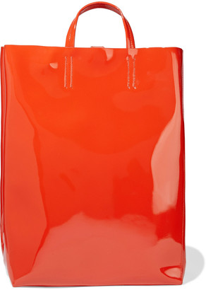 Acne Studios Baker Patent-leather Tote
