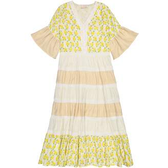 Masala Baby Women's Mara Dress Lemon Blossom Yellow M