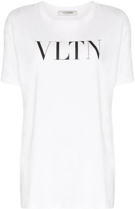 Valentino VLTN logo-print T-shirt
