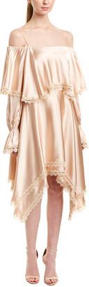 Jonathan Simkhai Johnathan Simkhai Off-The-Shoulder A-Line Dress