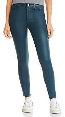 AG Jeans Farrah Faux-Leather Skinny Jeans
