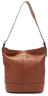 Hunting Season Hobo Leather Tote Bag - Tan